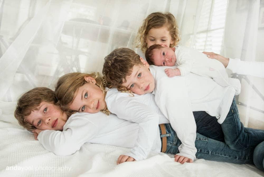 צילום משפחה וילדים אנדה יואל