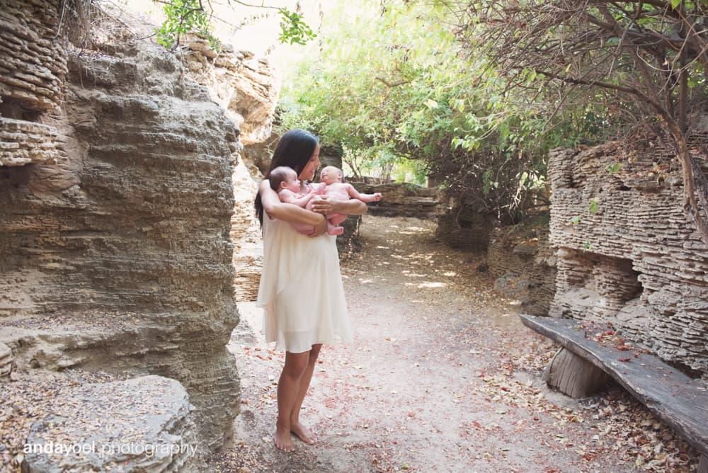 צילומי הריון וניובורן בטבע, אנדה יואל