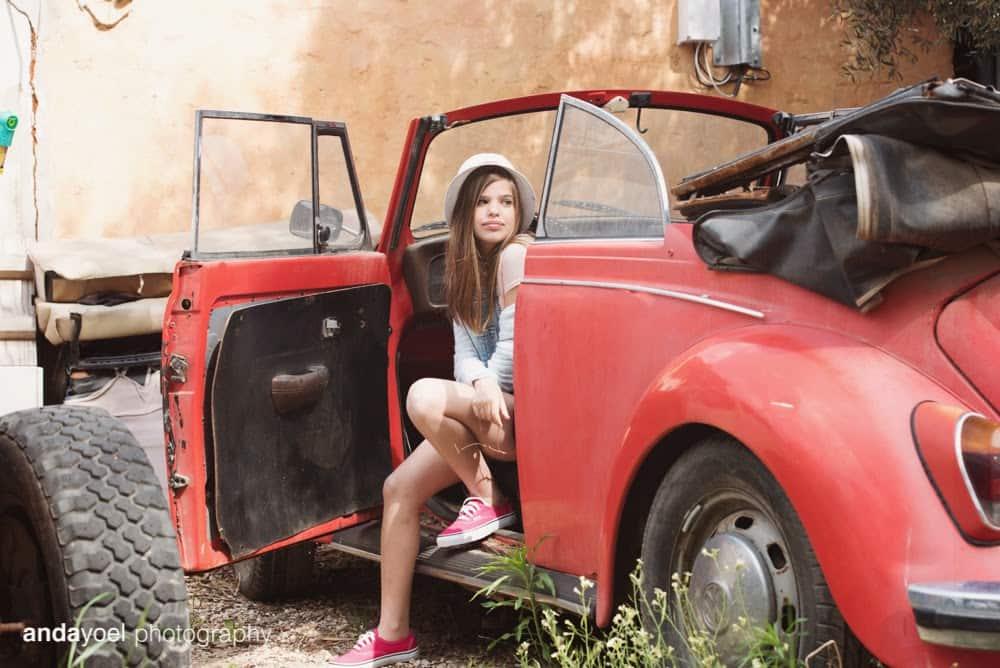 תמר באוטו אדום - אנדה יואל
