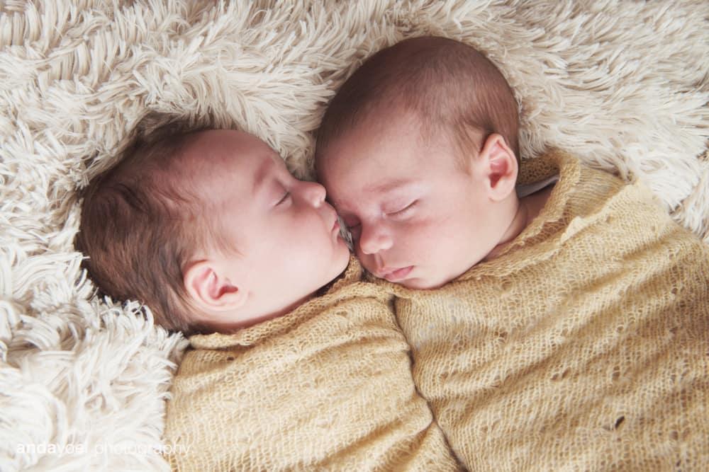צילומי תינוקות תאומים