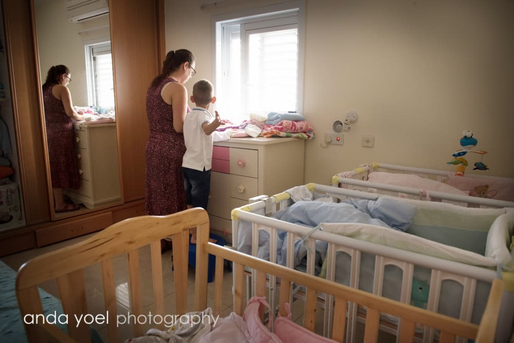 צילומי תינוקות בבית - אנדה יואל