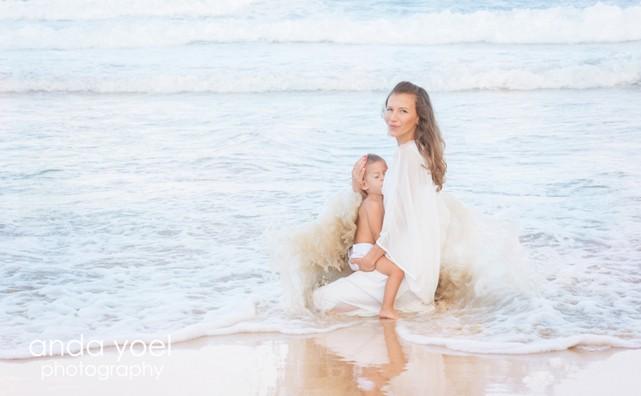 צילומי הנקה בים - אנדה יואל