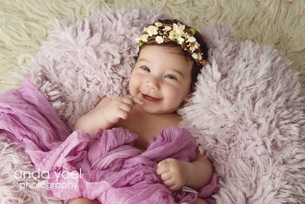 צילום תינוקות (בני חודש עד שנה - אנדה יואל