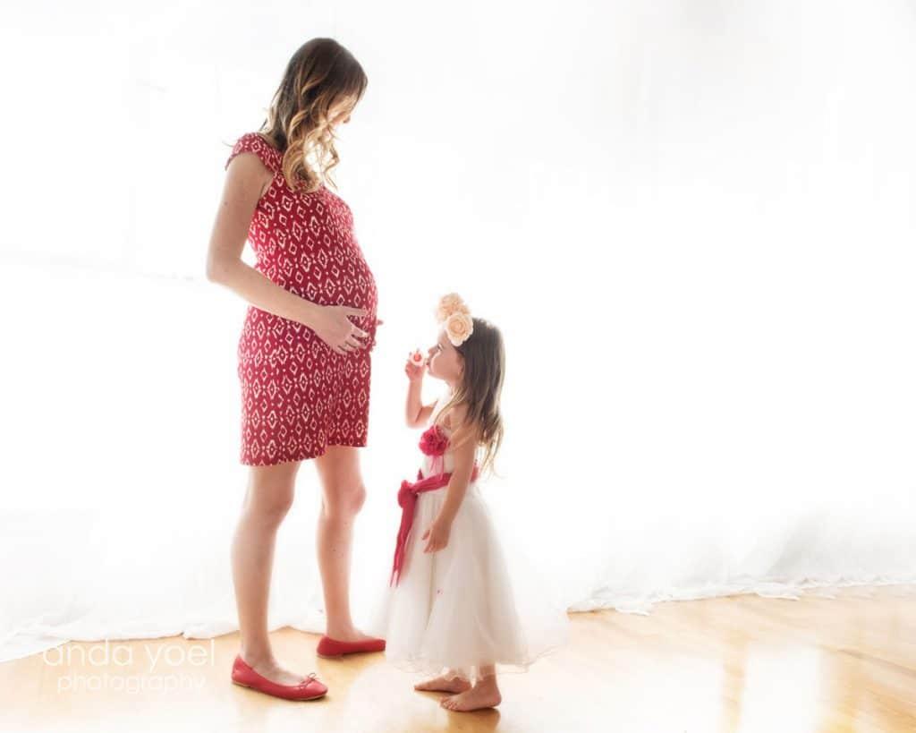 צילומי הריון בסטודיו - אנדה יואל