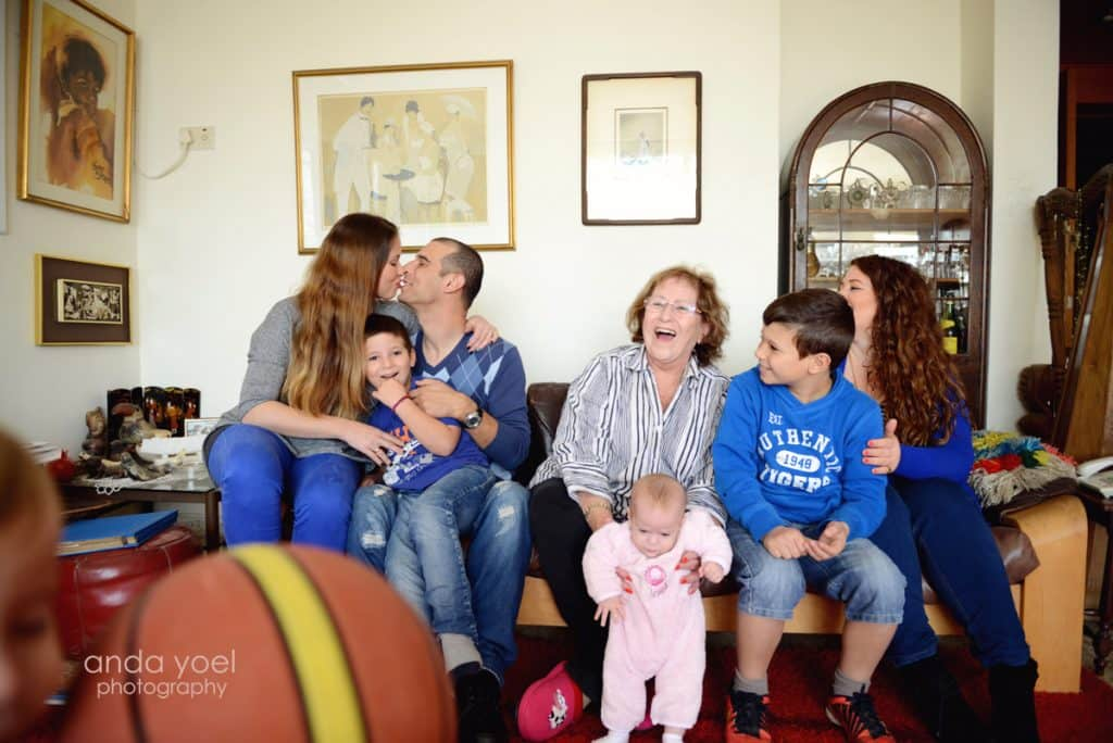 צילום דורות צילומי משפחה מורחבת