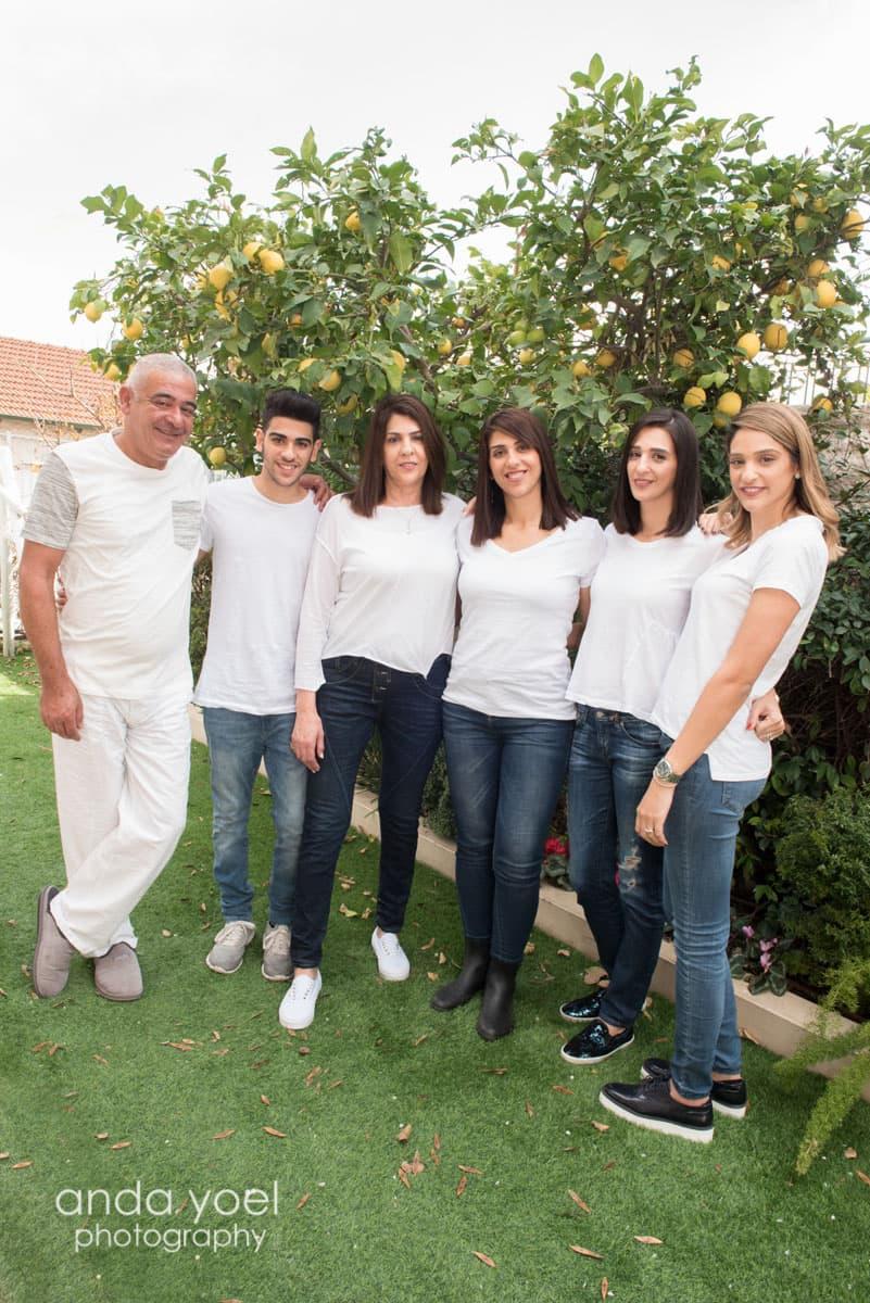 צילום דורות ומשפחה מורחבת