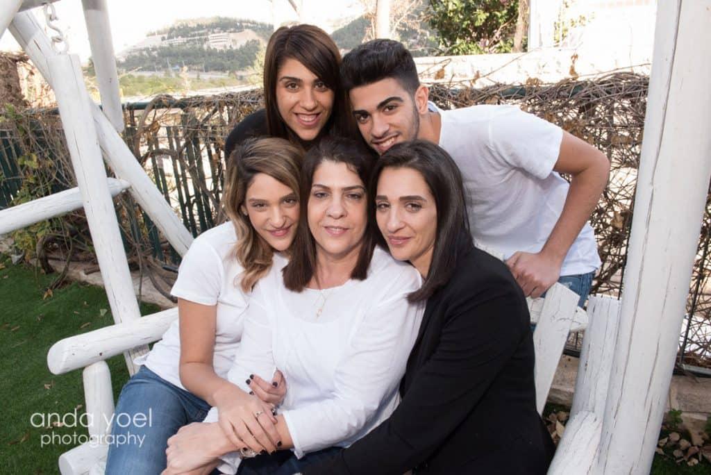צילומי דורות משפחה מורחבת