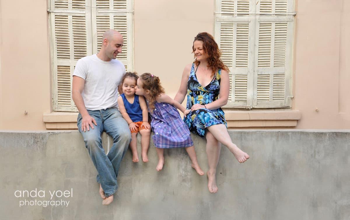 צילומי משפחה אורבניים