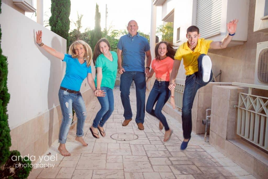 צילומי משפחה וילדים בבית