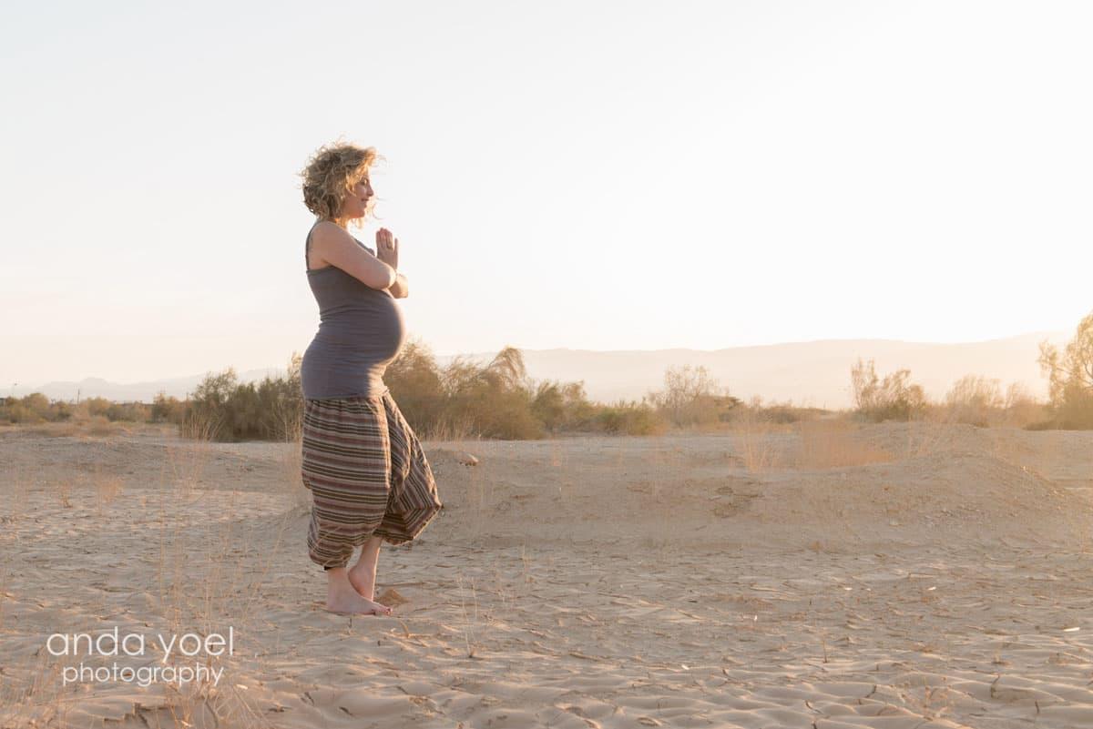 צילומי הריון במדבר