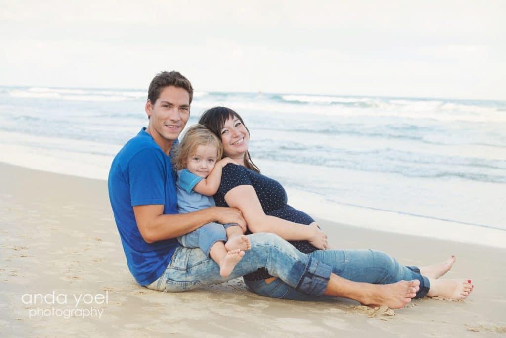 צילומי הריון בים - אנדה יואל