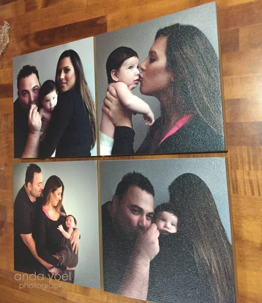 מתנה מקורית לראש השנה הדפסה איכותית על עץ - אנדה יואל