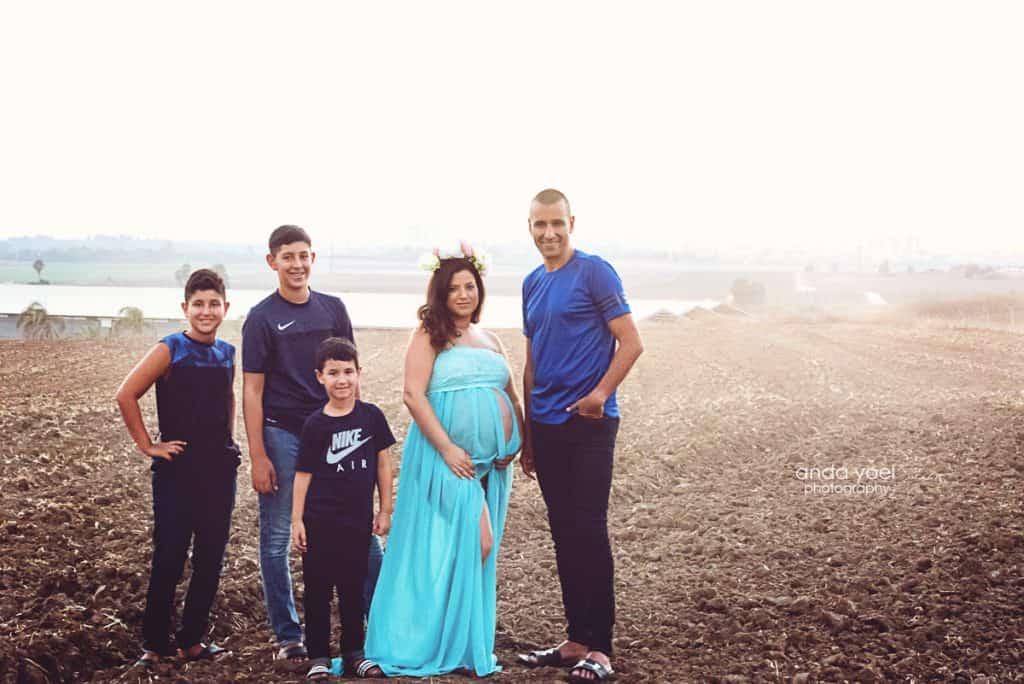 צילום משפחה בטבע - צילומי הריון אנדה יואל