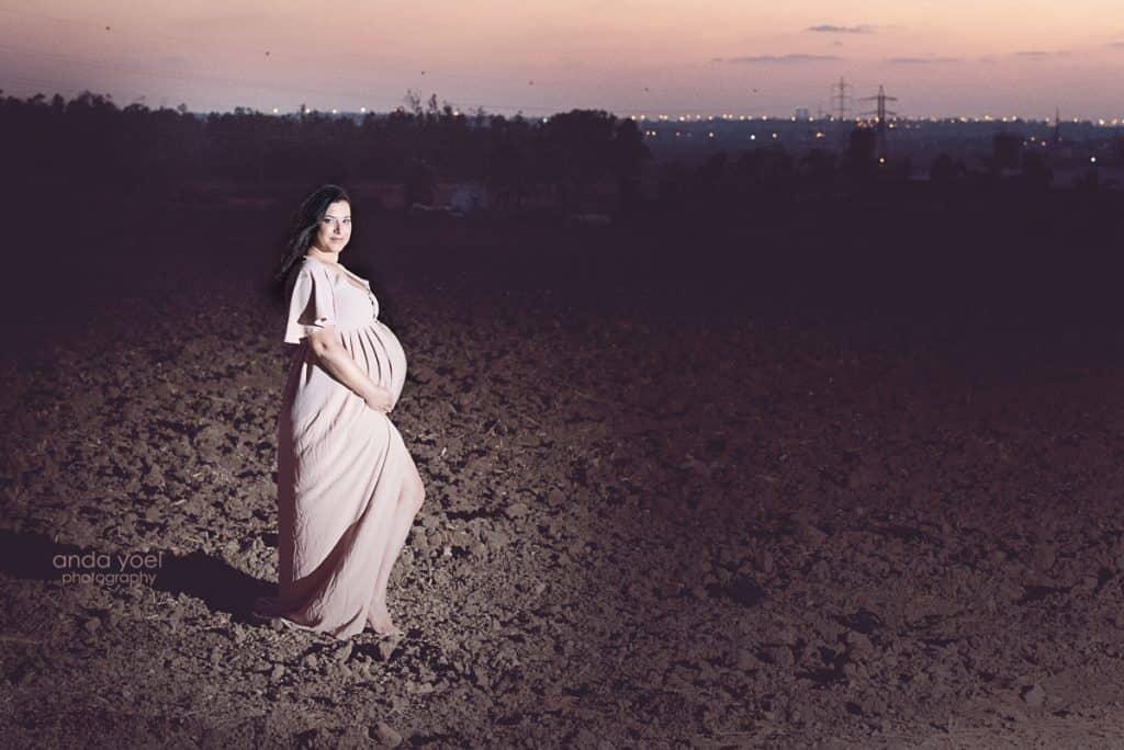 צילומי הריון בטבע - אנדה יואל