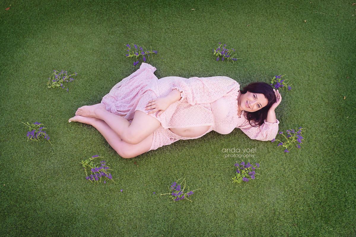 צילום הריון בבית - צילומי הריון אנדה יואל