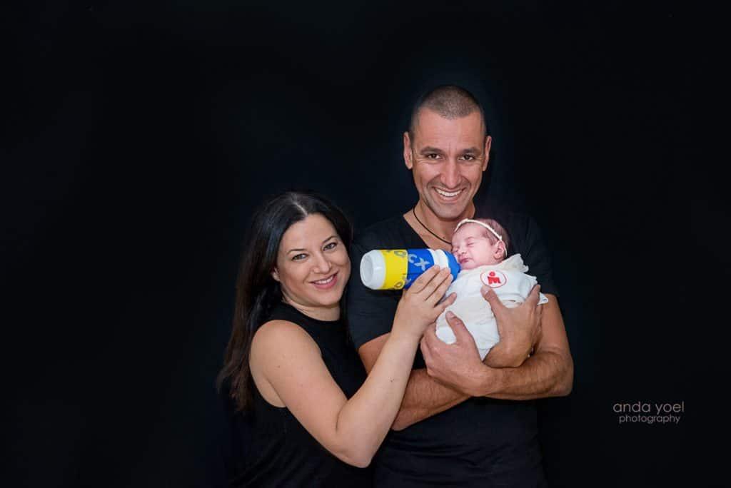 צילומי ניובורן ומשפחה בבית - אנדה יואל