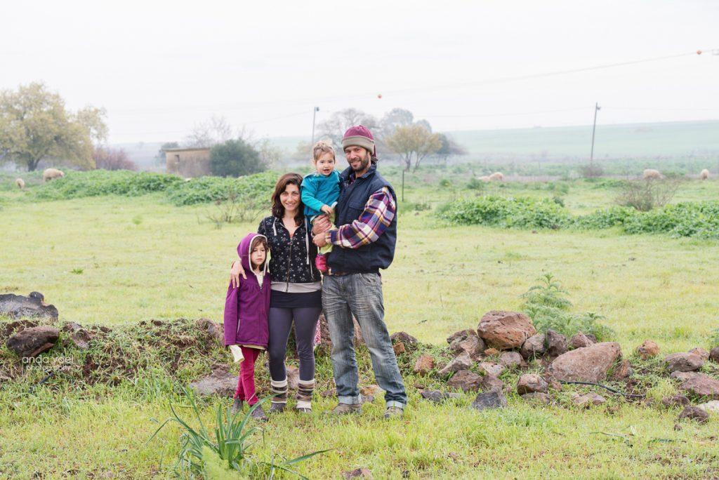 משפחת ברלב - מיצר - צילומי משפחה - מסע בארץ אנדה יואל