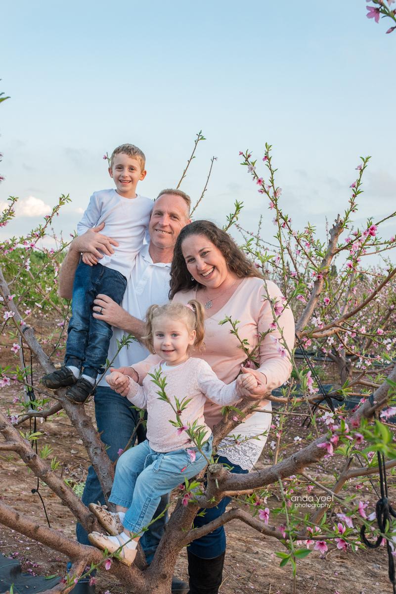 צילום משפחת שיפריס - באר שבע - צילומי משפחה - מסע בארץ אנדה יואל