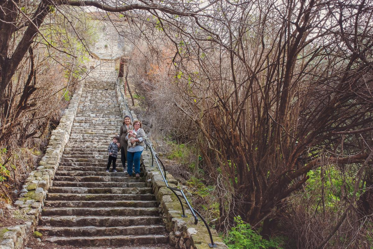 צילום משפחת שומר - ראש פינה - צילומי משפחה - מסע בארץ אנדה יואל