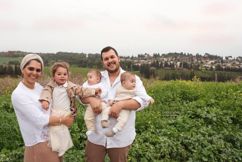 צילום משפחת בן חמו - גבת - צילומי משפחה - מסע בארץ אנדה יואל