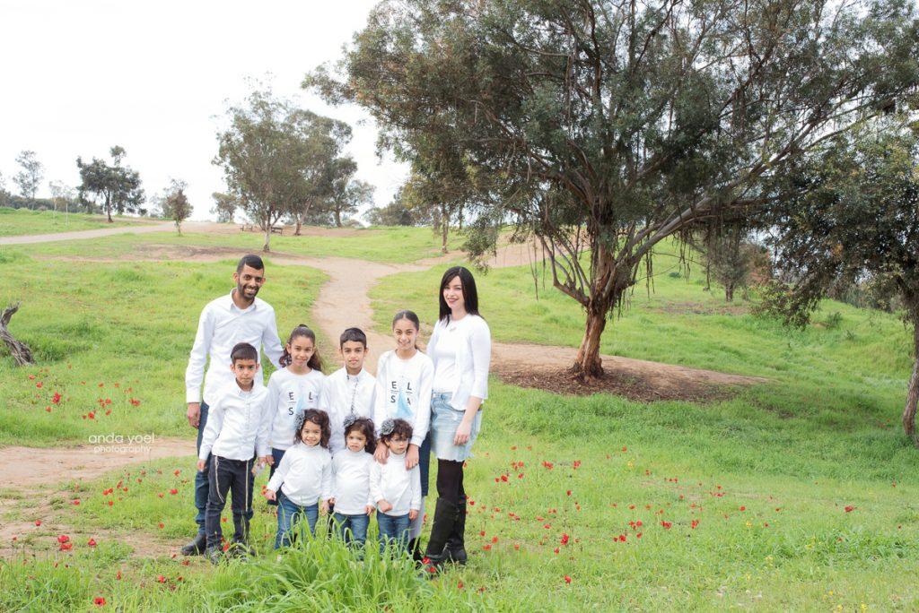 צילום משפחת מזרחי - בארי - צילומי משפחה - מסע בארץ אנדה יואל
