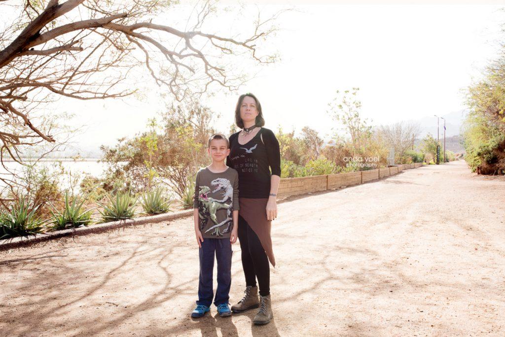צילום משפחת נקדימון - אילת - צילומי משפחה - מסע בארץ אנדה יואל