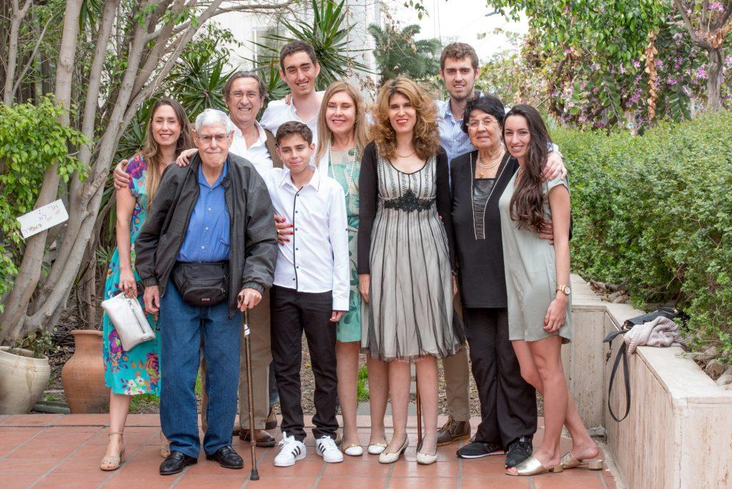 צילום משפחה מורחבת - ארוע בבית דניאל - אנדה יואל