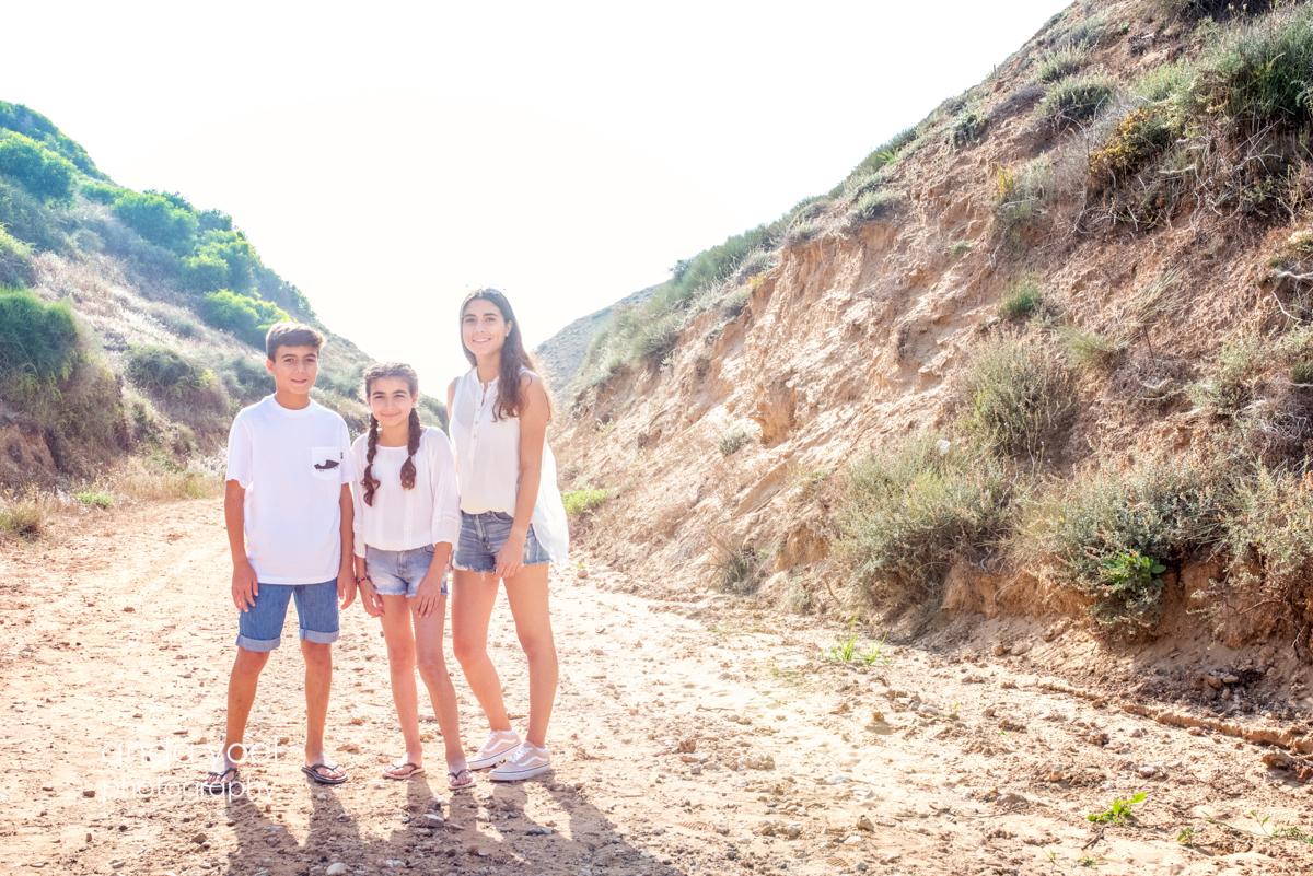 צילומי משפחה בטבע - צילומי משפחה אנדה יואל