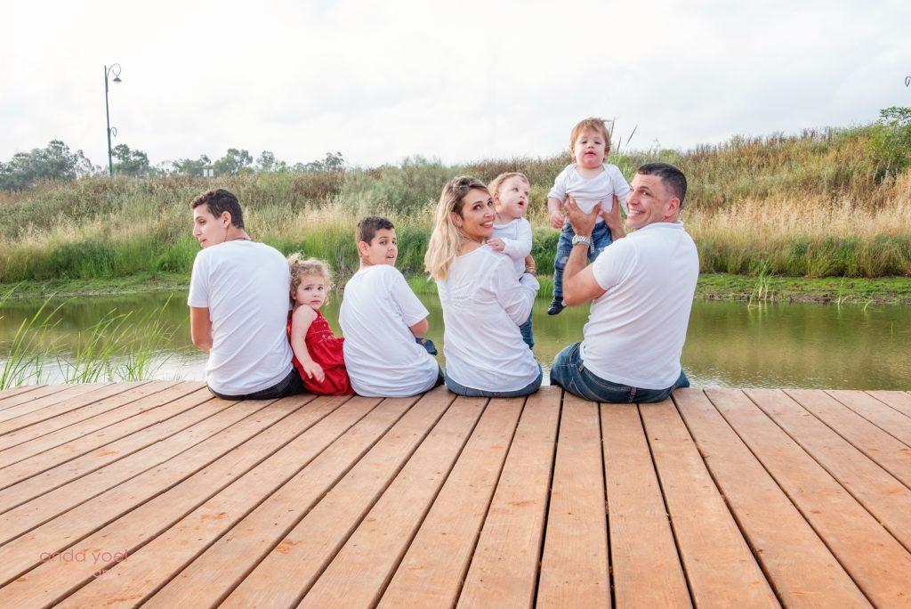 צילומי משפחה בטבע - אנדה יואל