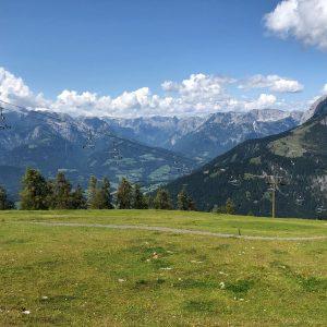 בהר מעל werfenweng