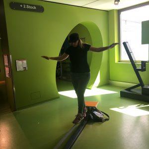 במוזיאון המדע