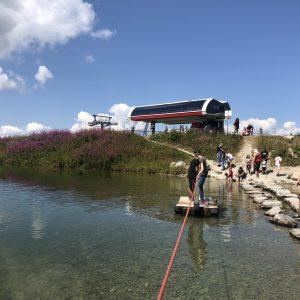 פעילות כייפית באגם