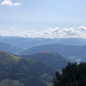ikaros werfenweng 2000 מטר מעל המלון
