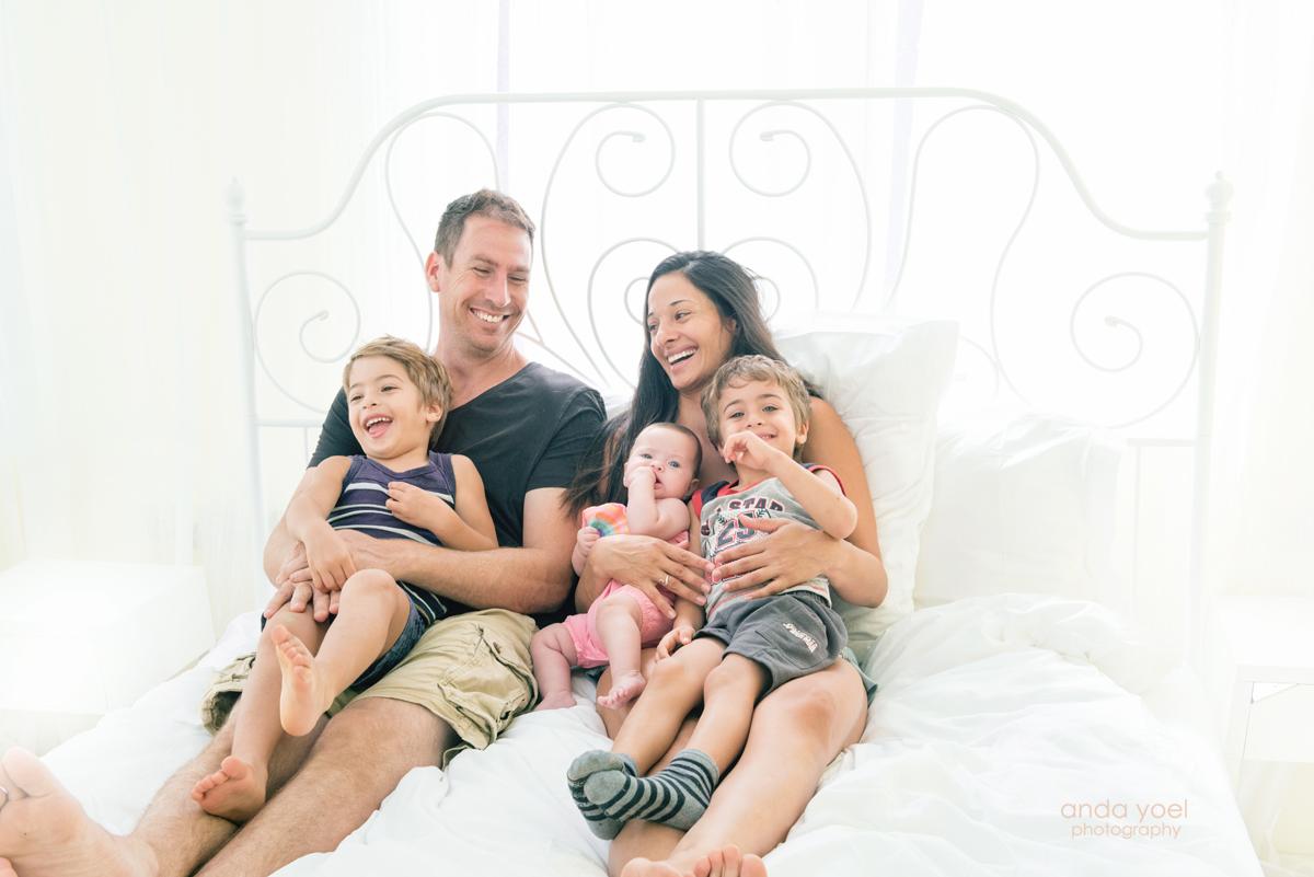 צילומי משפחה לאחר טיפולי פוריות
