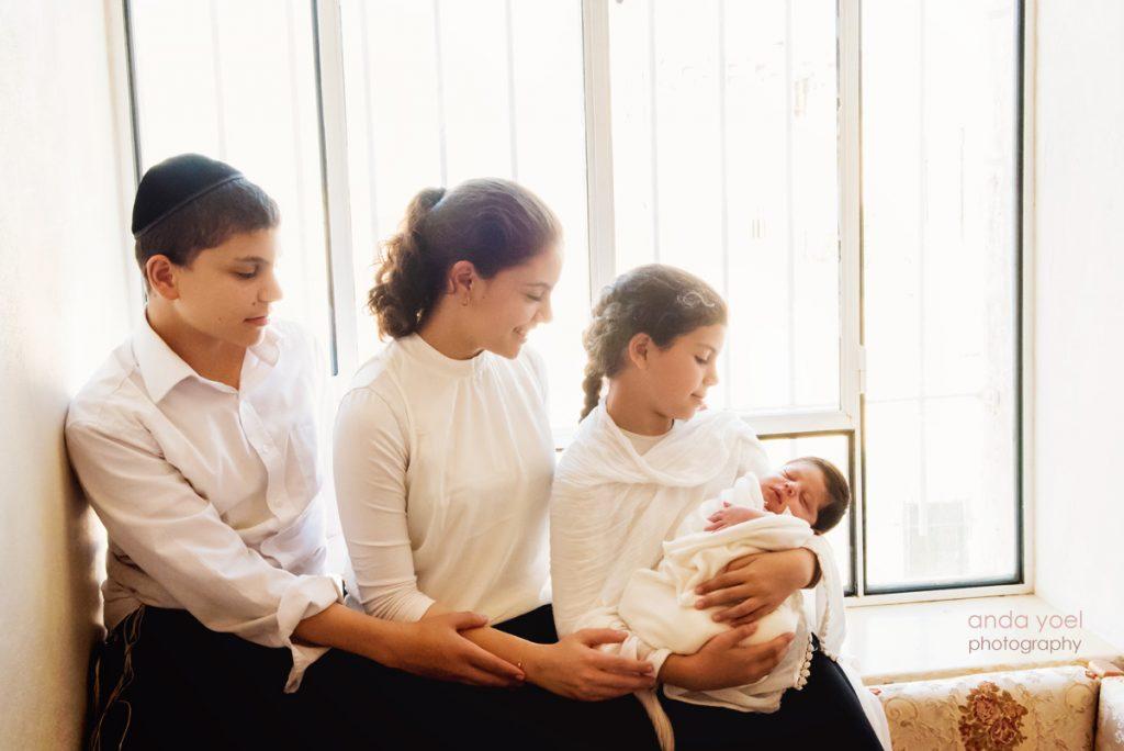 צילומי ניובורן בבית בירושלים - אנדה יואל