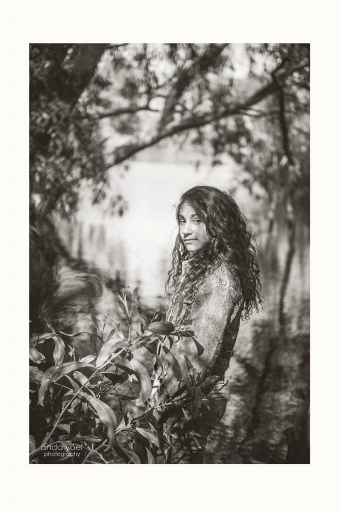 בוק בת מצווה בטבע ליאן בשחור לבן - אנדה יואל