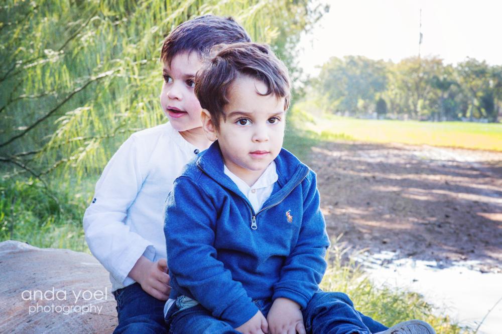 צילומי משפחה וילדים בטבע - אנדה יואל