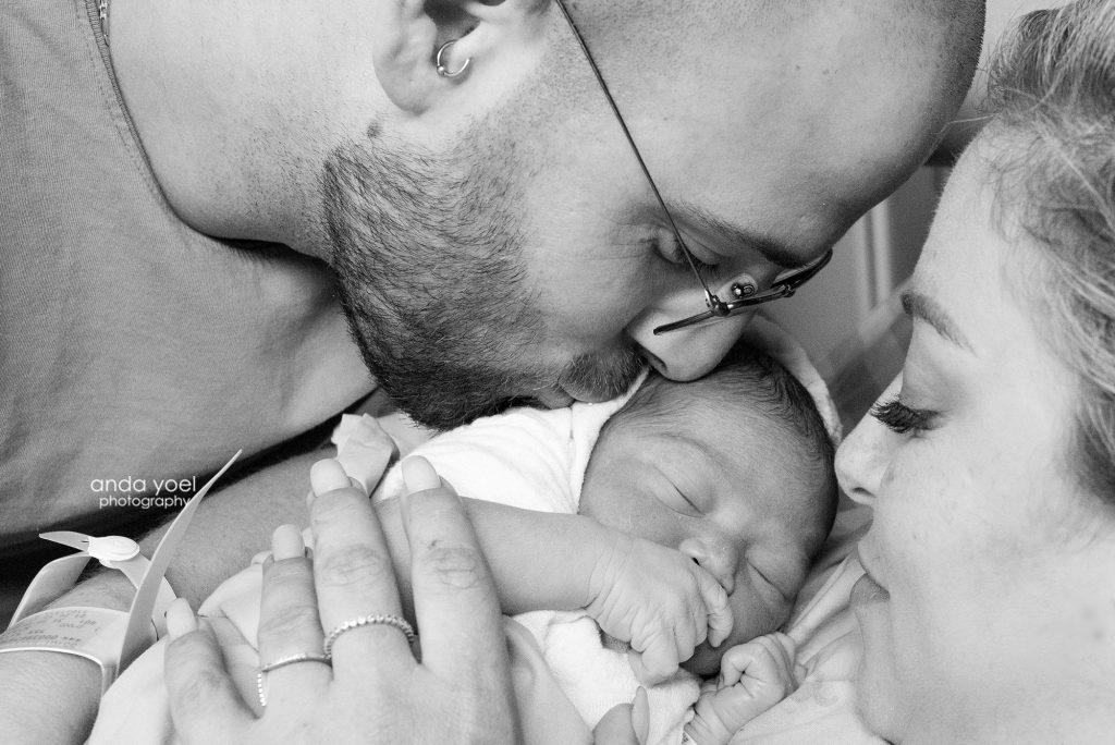 ליהיא גרינר ילדה - צילום לידה - אנדה יואל