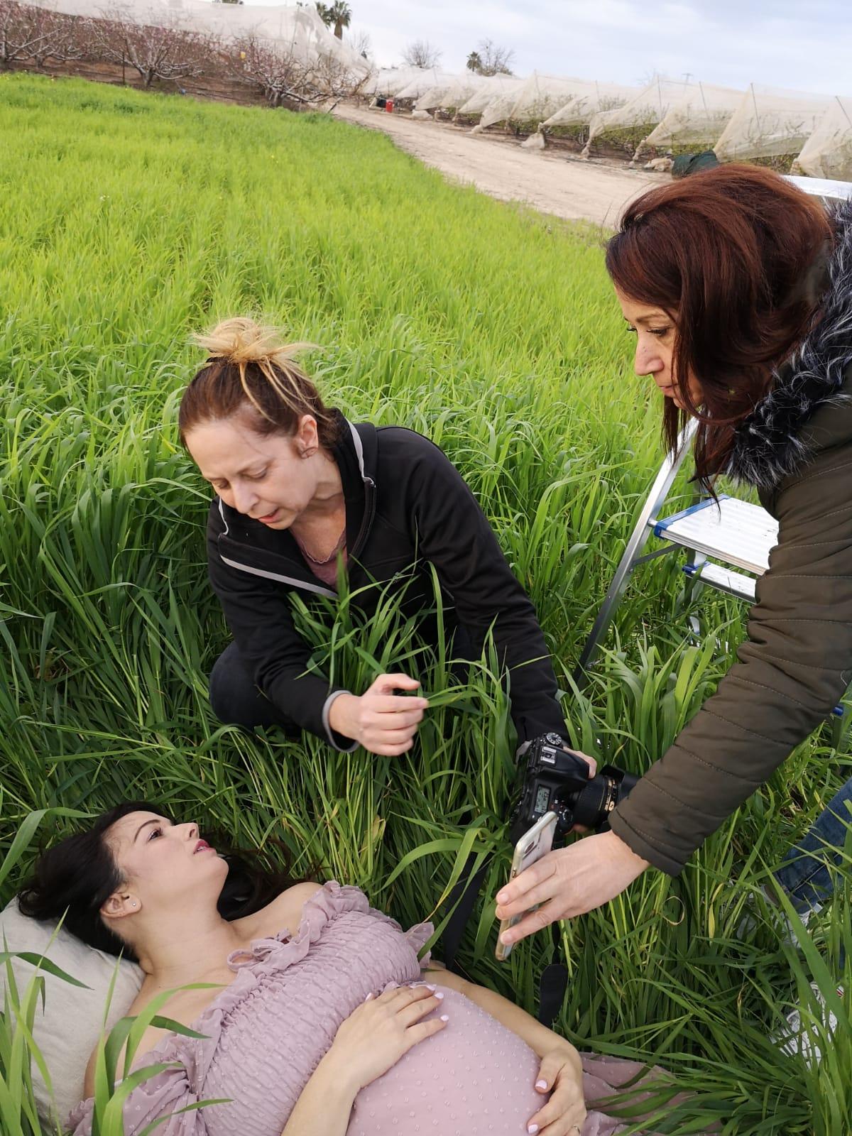צילומי הריון בטבע רלי ואלדד לוי זעירא- אנדה יואל