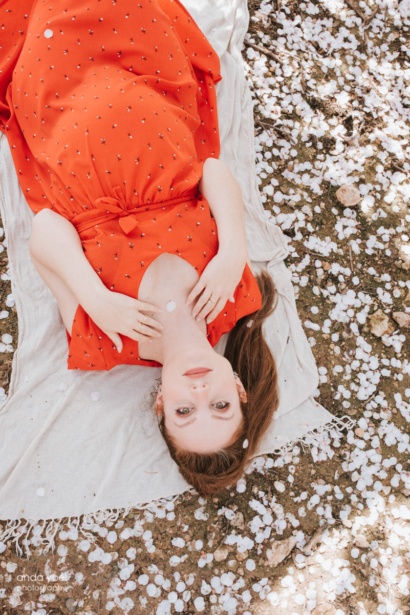 """צילומי הריון בטבע """"שקדיה"""" בשקדיות (רות רסיוק) - אנדה יואל"""
