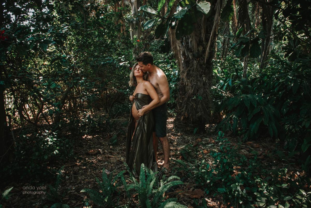 צילומי הריון בטבע בימי קורונה - אנדה יואל
