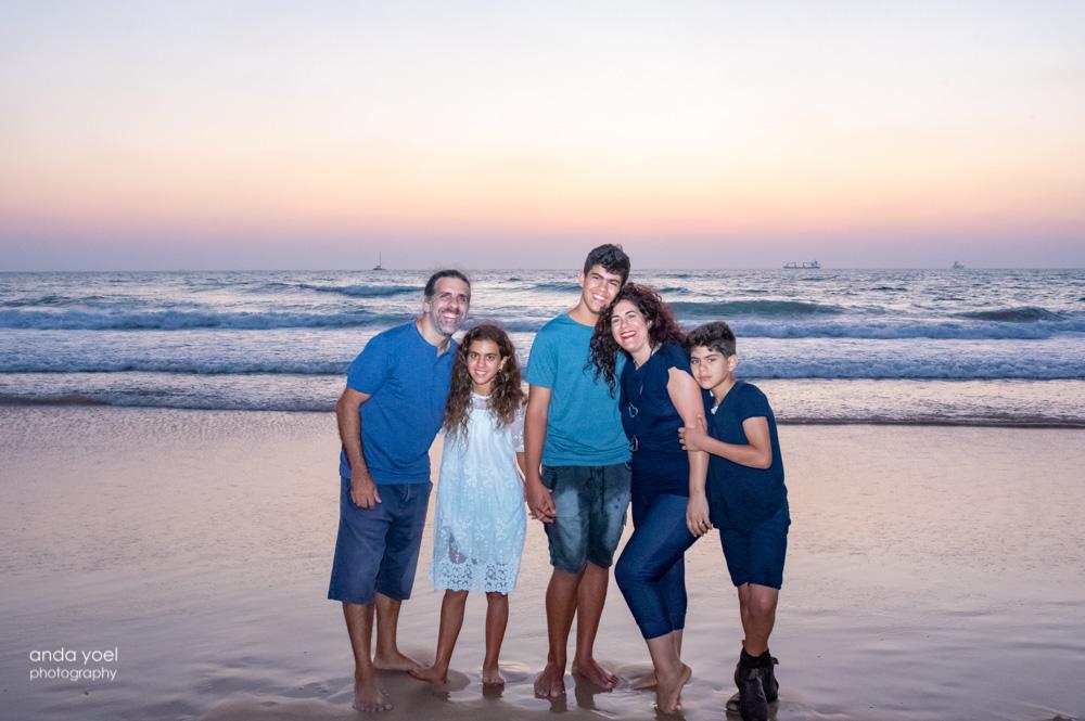 צילומי משפחה וילדים בטבע לילך - אנדה יואל