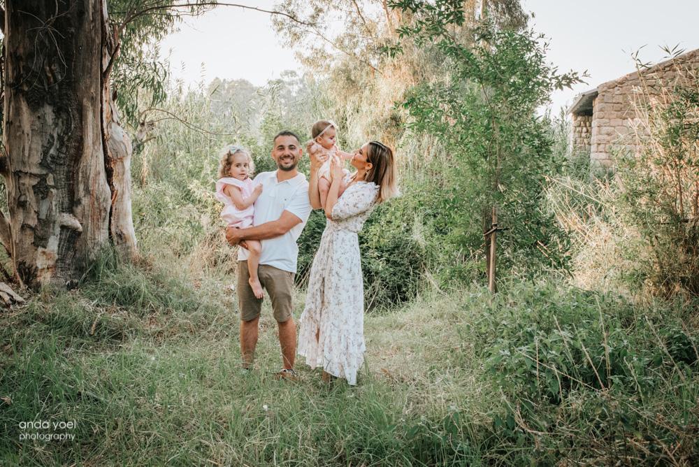 צילומי משפחה וילדים בטבע אורלי ח - אנדה יואל