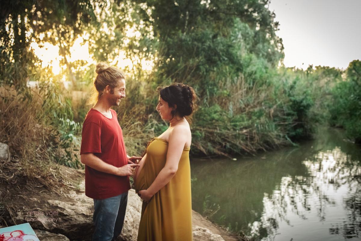 צילום הריון בטבע - אנדה יואל