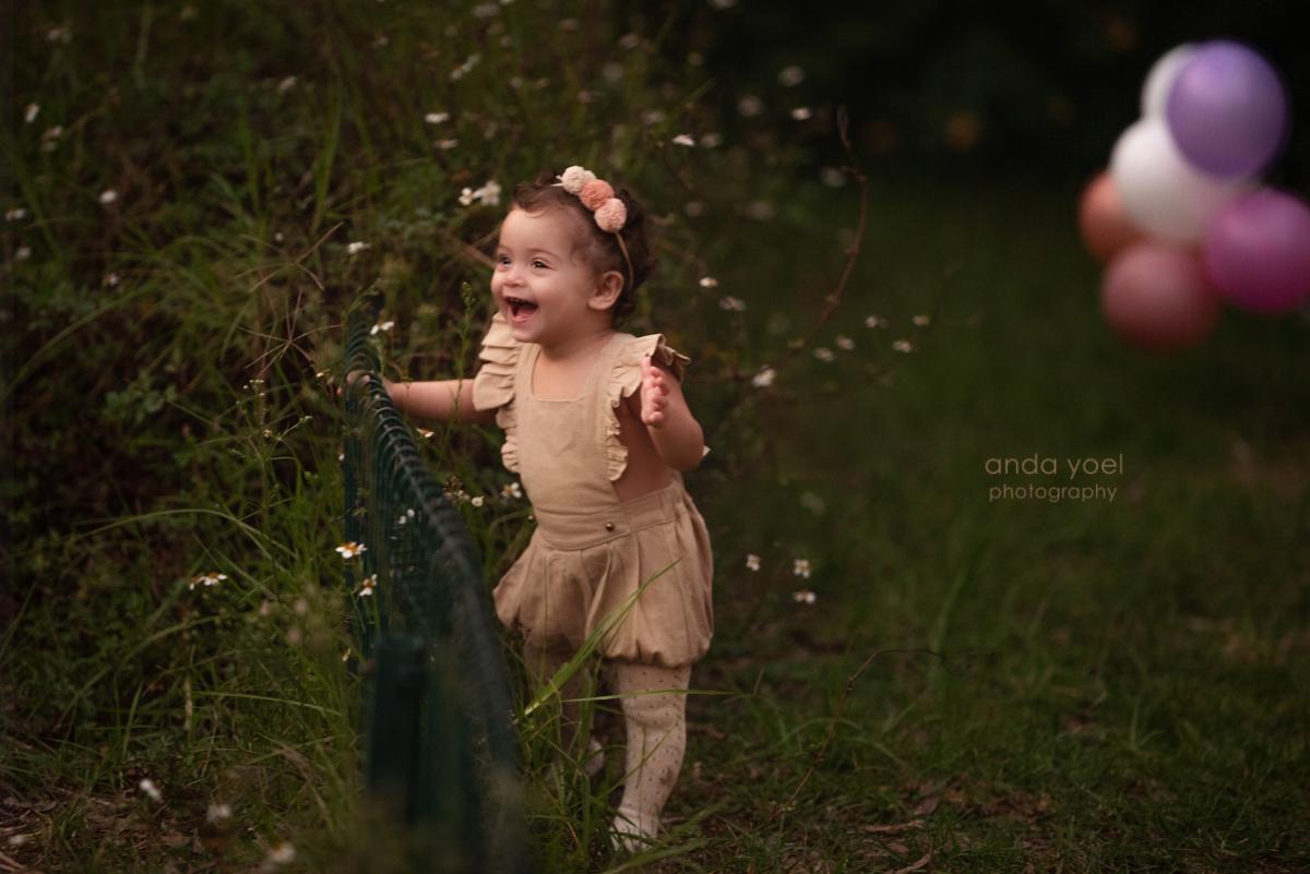צילום גיל שנה בטבע אלי הבת של ליהיא גרינר - אנדה יואל