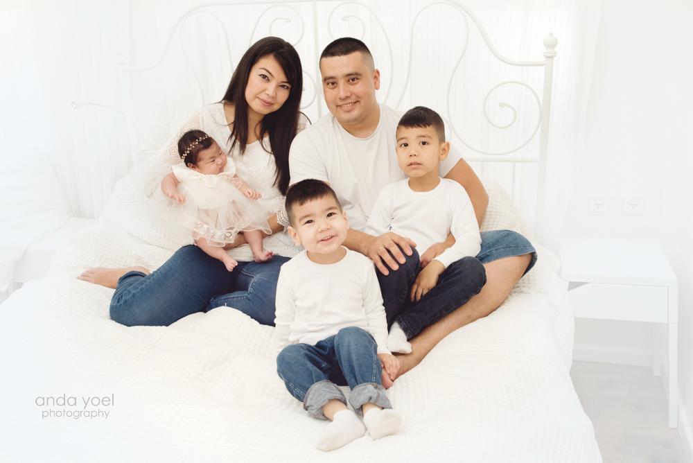 צילומי ניו בורן ומשפחה סטודיו אנדה יואל