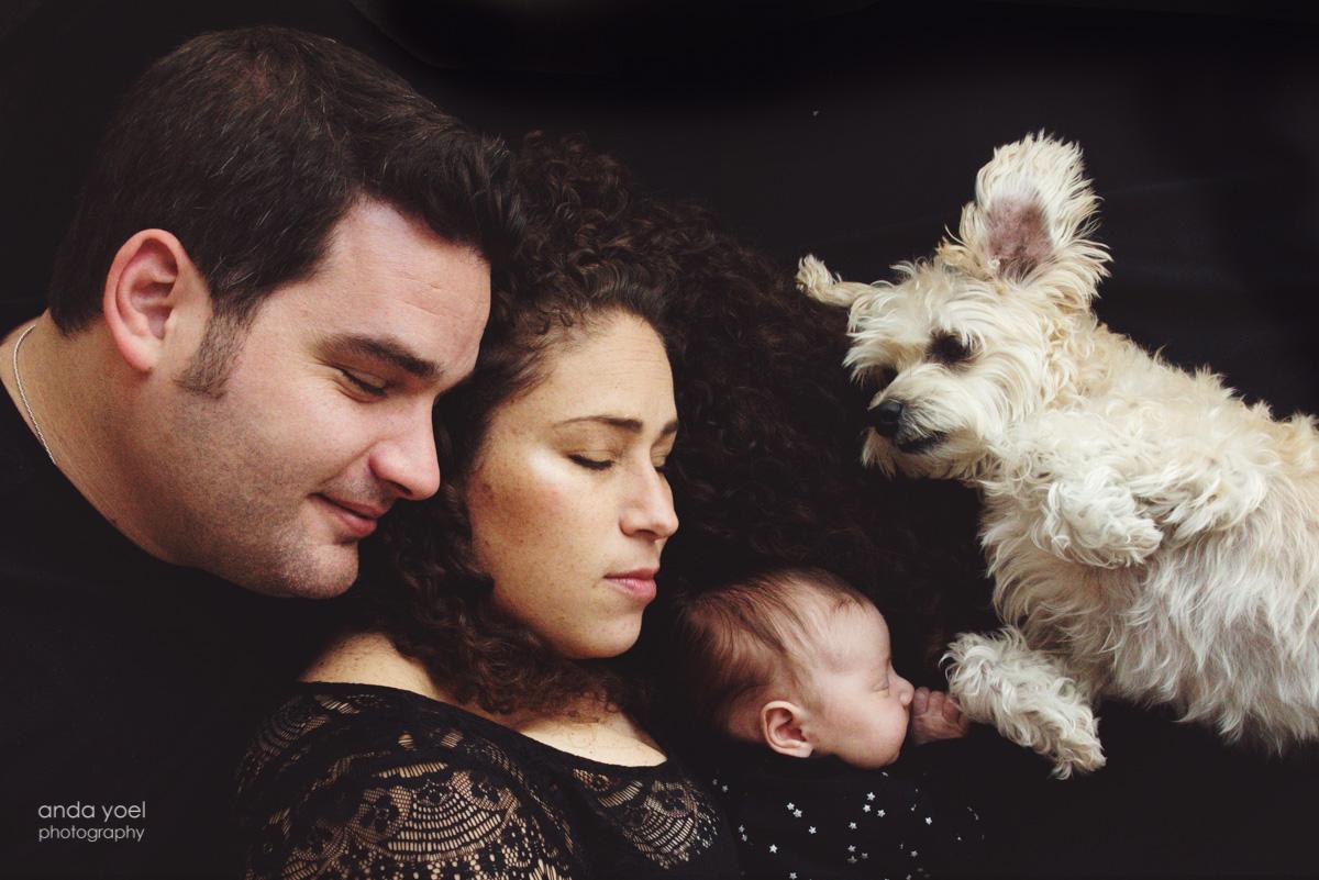 צילומי ניובורן לייף סטייל בבית (כוכבי) - אנדה יואל