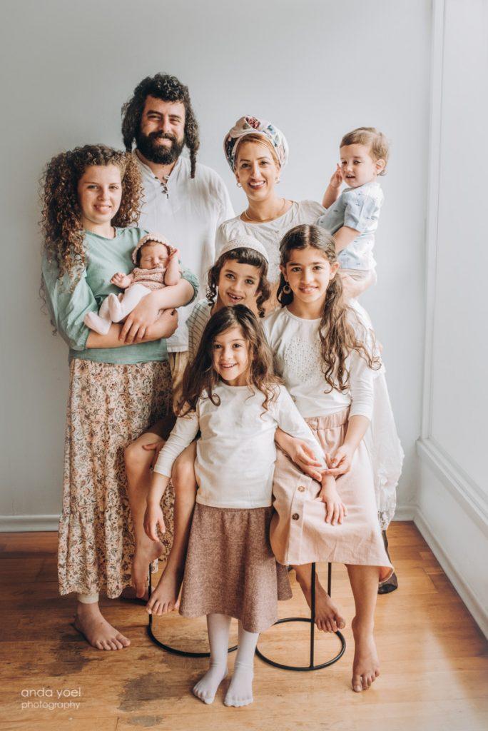 צילום ניו בורן ומשפחה - אנדה יואל