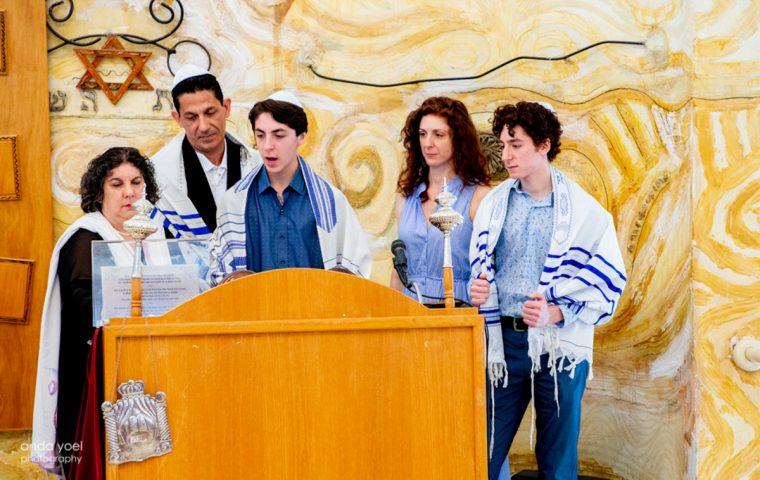 צילומי משפחה ובר מצווה בבית דניאל