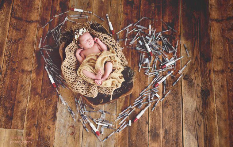 הריון וצילומי ניו בורן לאחר טיפולי פוריות – הסיפור המלא מאחורי הצילומים